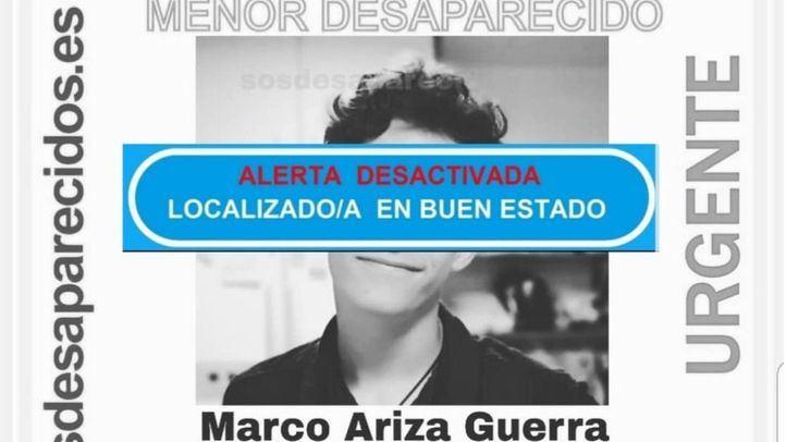 Localizado en buen estado el chico desaparecido en Torrejón