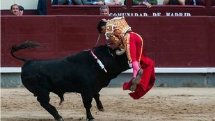 Grave cornada a Gonzalo Caballero en una corrida muy exigente de El Pilar