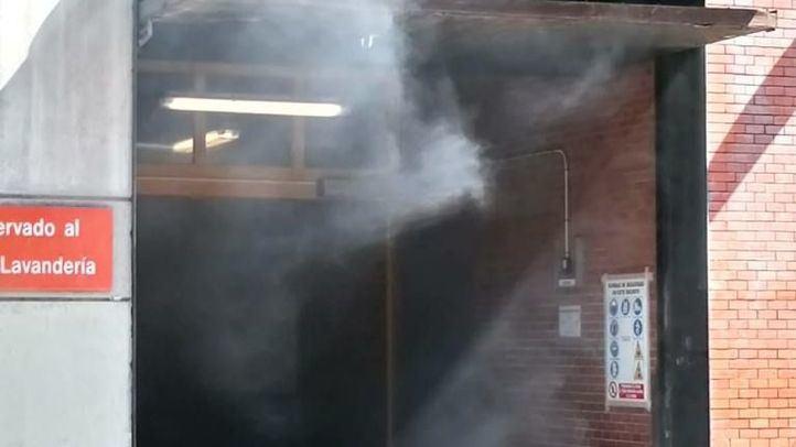 Los servicios de emergencias han recibido una llamada a las 11.45 horas de este miércoles por humo detectado por un motor averiado.