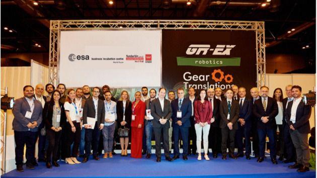Los emprendedores madrileños del sector aeroespacial sacan pecho en la Global Robot Expo