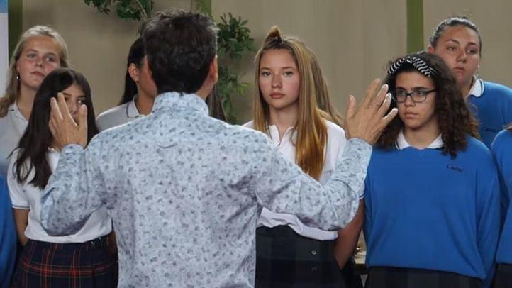 Concierto de primavera en el colegio Casvi International American School de Tres Cantos