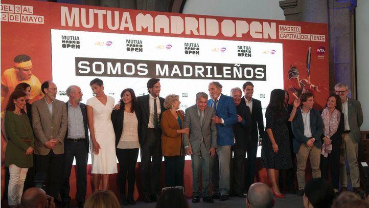 Inauguración de la edición de este año del Mutua Madrid Open