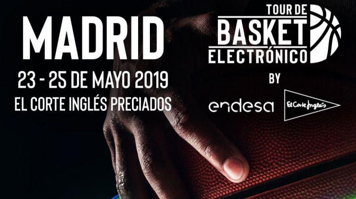El Corte Inglés y Endesa clausuran en Madrid el 'Tour de Basket Electrónico'