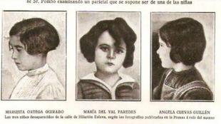 Desaparecen las tres niñas de Hilarión Eslava por un encargo de patatas