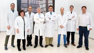 Equipo del doctor Barriga del Hospital de Parapléjicos de Toledo