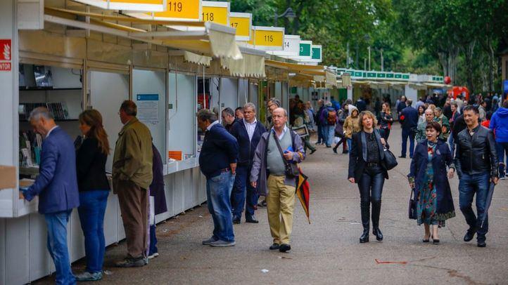 La Feria del Libro de 2018 en El Retiro