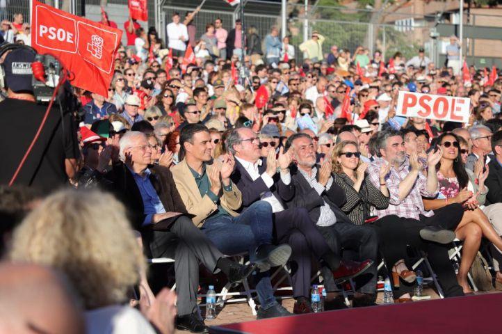 El PSOE cierra su campaña para el 26M con Pedro Sánchez.