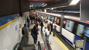 Huelga de maquinistas de metro de Madrid durante la semana del 20 al 25 de mayo.