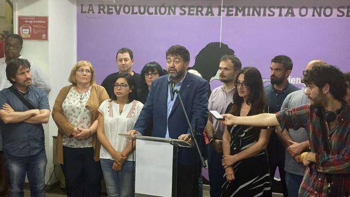 Sánchez Mato, candidato de Madrid en Pie Municipalista valora los resultados electorales
