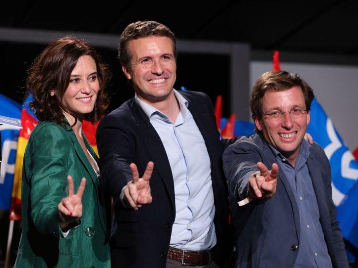 El PP coge impulso: Almeida recupera Madrid y Ayuso retiene la Comunidad