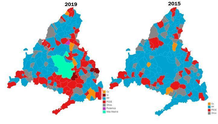 Madrid, San Fernando, Ciempozuelos y Pinto: los 'ayuntamientos del cambio', borrados del mapa