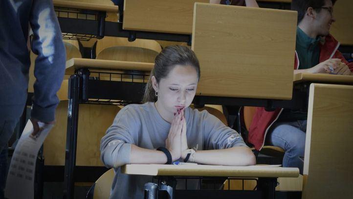 Adelanto en el horario de los exámenes, que se celebran del 4 al 6 de junio