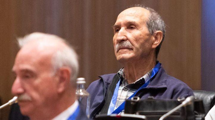 Eleuterio Sánchez en una presentación de un libro