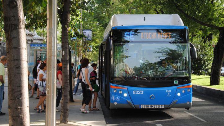 Buses entre Atocha y Nuevos Ministerios por el cierre del túnel de Recoletos