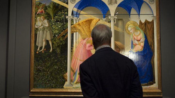 Una de las obras de la exposición 'Fra Angelico y los inicios del Renacimiento en Florencia'.