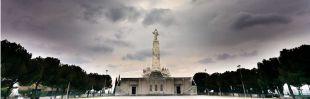 Alfonso XIII inaugura el Sagrado Corazón de Jesús