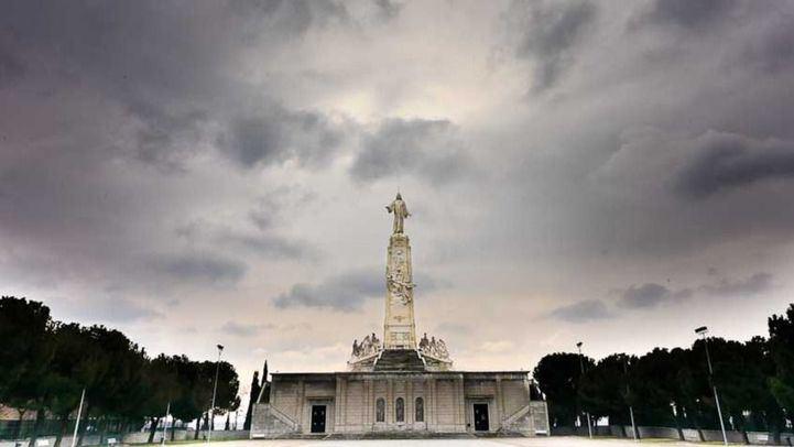Monumento al Sagrado Corazón de Jesús, en el Cerro de los Ángeles de Getafe.