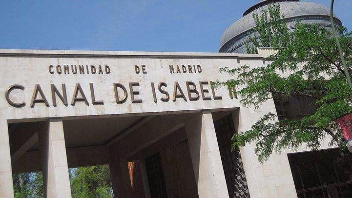 La sede del Canal Isabel II en Santa Engracia .