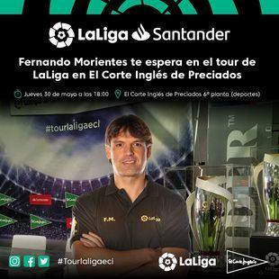 Fernando Morientes, uno de los embajadores de LaLiga, inaugurará el evento el 30 de mayo a las 18h.