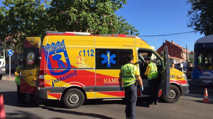 Muy grave una mujer tras ser atropellada en Hortaleza