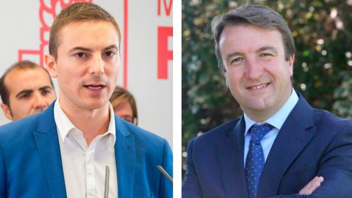 Juan Lobato (PSOE), alcalde de Soto del Real; y Jesús Moreno (PP), alcalde de Tres Cantos.