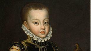 El príncipe Fernando se duerme en su jura como heredero