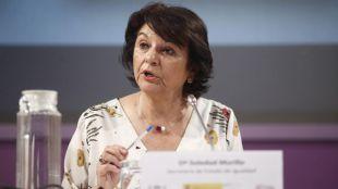 Soledad Murillo, secretaria de Estado de Igualdad en funciones.