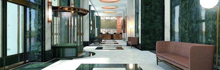 El hotel del Edificio España abrirá algunas habitaciones en julio y por completo en septiembre