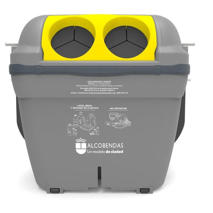 Alcobendas: nuevos contenedores para la recogida de envases