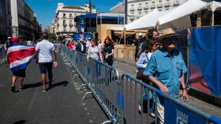 Medidas de seguridad por la final de la Champions en Madrid