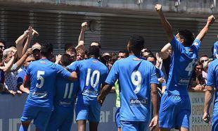 El CF Fuenlabrada se juega el ascenso a Segunda División frente al Recreativo de Huelva.
