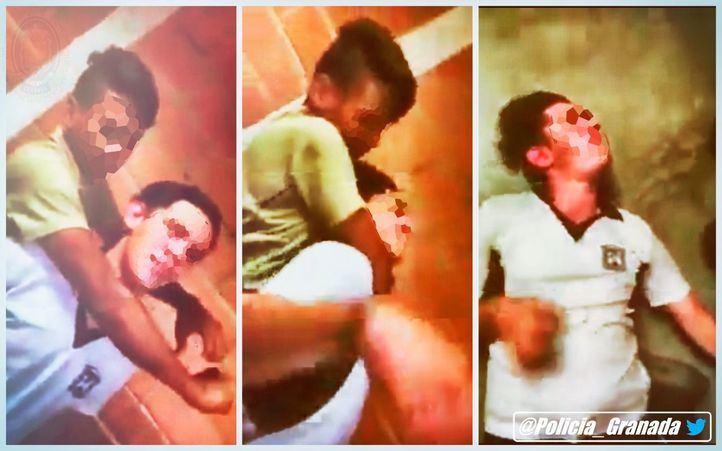 La Policía local de Granada ha advertido de la peligrosidad de esta práctica tras difundirse varios vídeos de menores realizándola