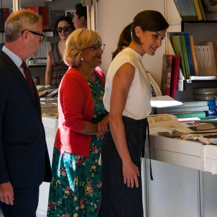 La Reina Letizia inaugura la 78º edición