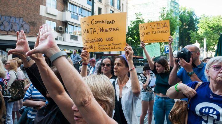 Concentración para exigir la 'normalización de la sexualidad femenina'