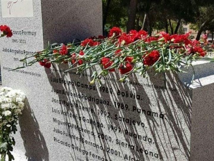 Un parque en Ciudad Lineal recuerda a los periodistas asesinados en conflictos armados