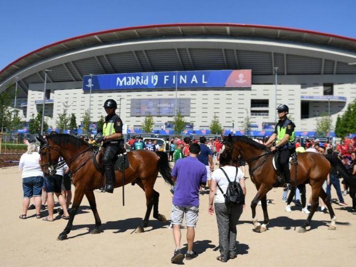 Madrid aprueba con nota la organización de la Champions