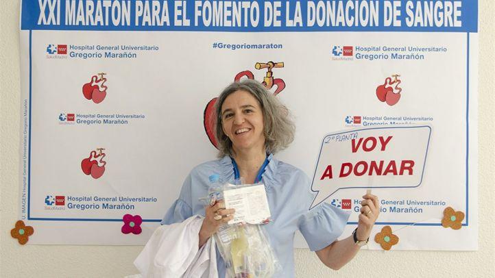 El Gregorio Marañón supera su récord de donaciones de sangre