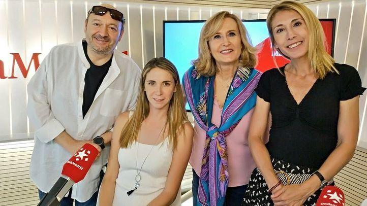 Cristina Saavedra y Mar Espinar junto a Nieves Herrero y Constantino Mediavilla en Onda Madrid