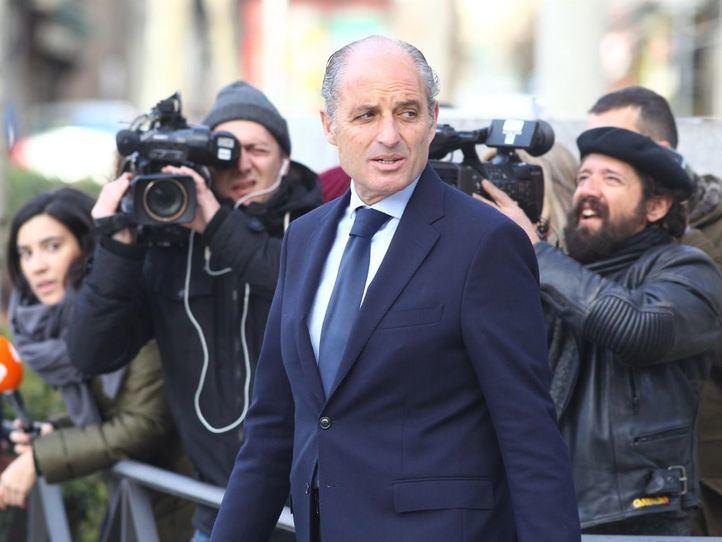 Francisco Camps, procesado por prevaricación en contratos de la Gürtel