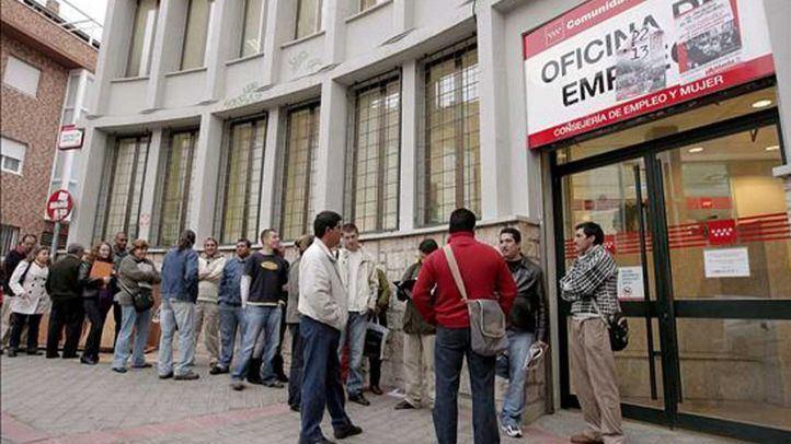 El paro en la Comunidad de Madrid cae un 1,9% en abril y sitúa la cifra global de desempleados en 341.125.