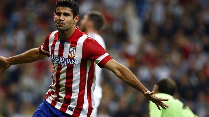El jugador del Atlético de Madrid, Diego Costa.