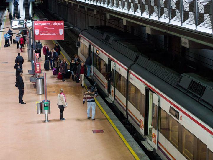 Más vías en Atocha para las líneas que pasan por Sol