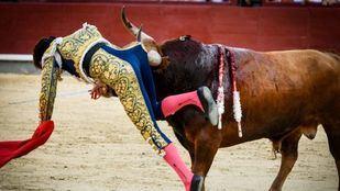Derroche de testosterona de Tomás Campos en un festejo de escasa relevancia