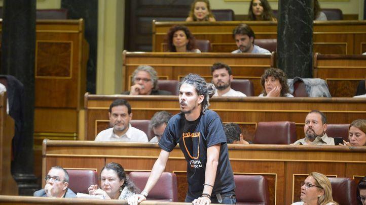Alberto Rodríguez, en una imagen de archivo, sustituirá a Pablo Echenique al frente de la Secretaría de Organización del partido.