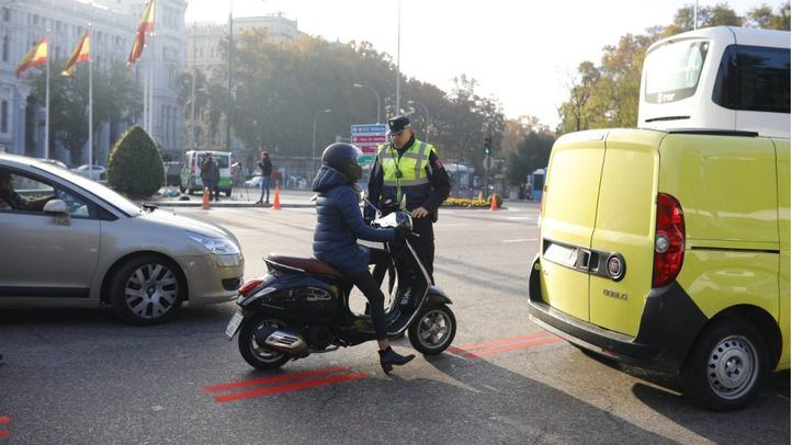 Las multas por el error en los horarios de Madrid Central, anuladas de oficio