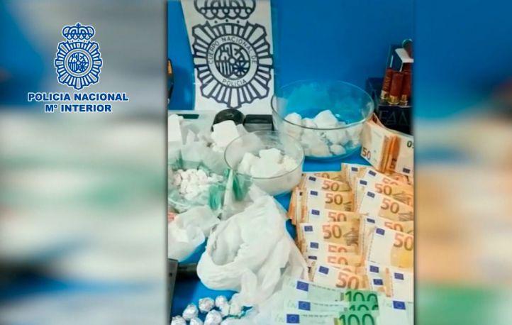 La Policía desmantela tres puntos de venta de droga