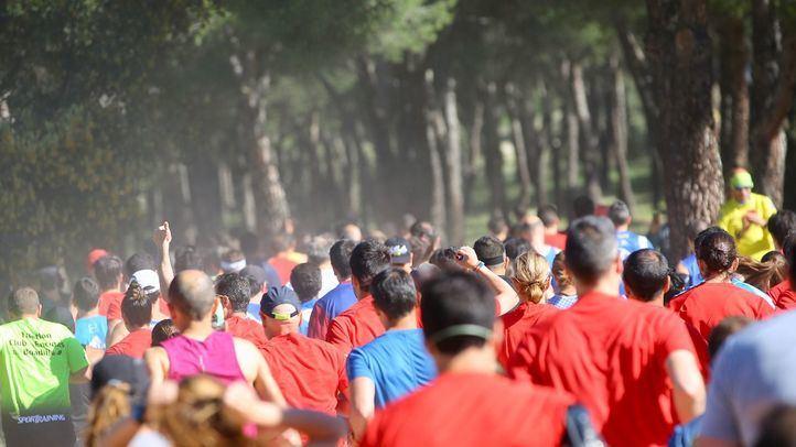 Carrera 'Correr sin Glu10', en Las Rozas.