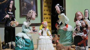 Un recorrido histórico de plastilina, en el Palacio de Gaviria