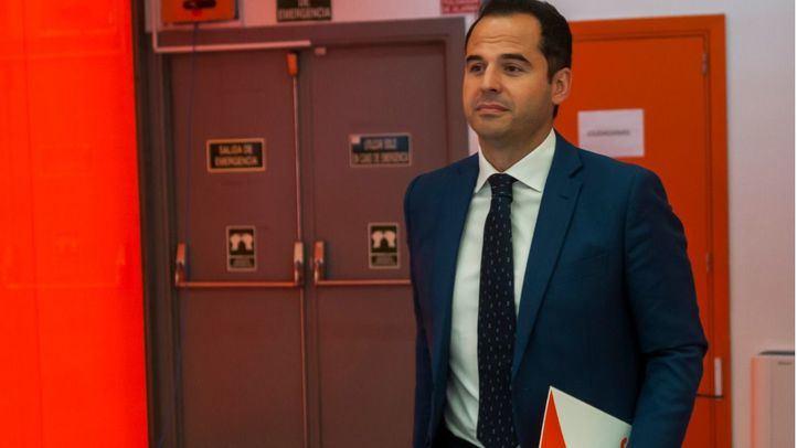 Ignacio Aguado, candidato de Ciudadanos.