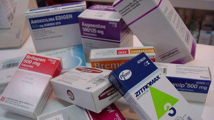 Medicamentos en una foto de archivo.
